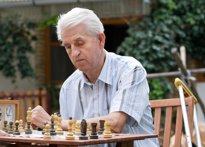 Foto von Schachspieler