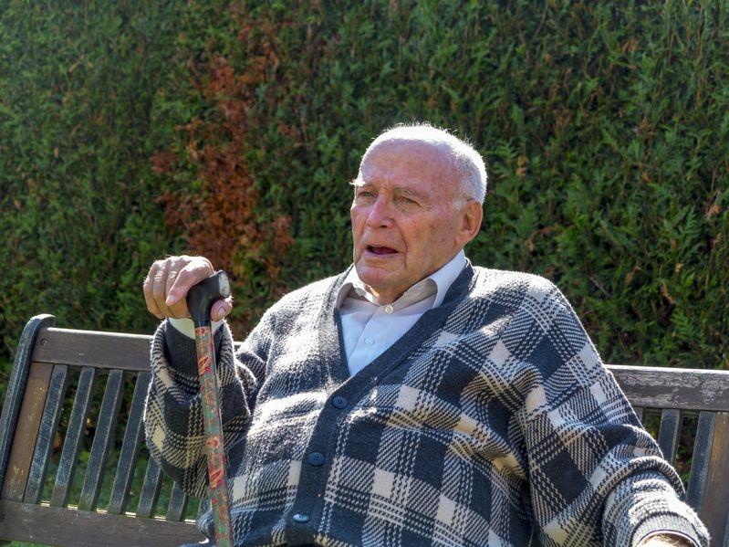 Photo of an older man