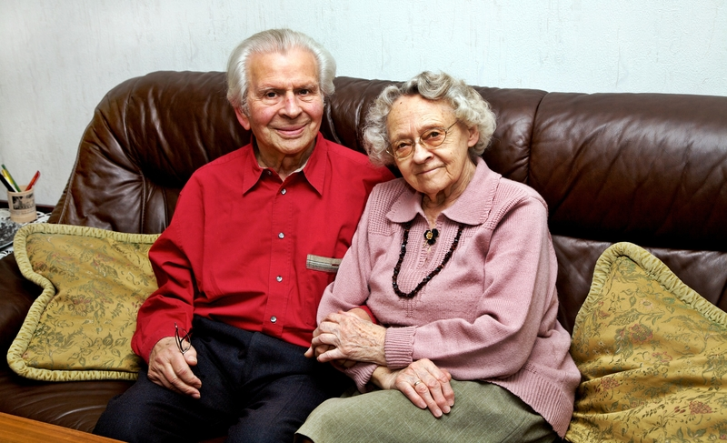 Photo of an elderly couple